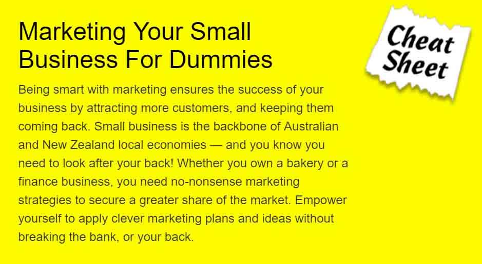 Small Business Marketing Cheat Sheet
